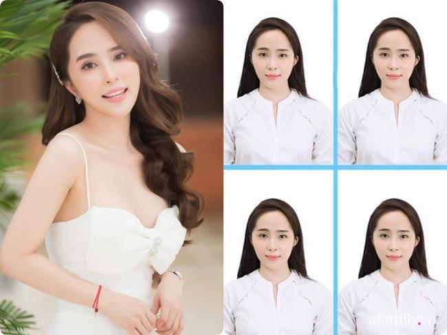 """So sánh mặt mộc với ảnh thẻ mới thấy các sao Việt luôn có chiêu make up """"lách luật"""" để cho ra một bức ảnh thẻ đẹp long lanh - Ảnh 7."""
