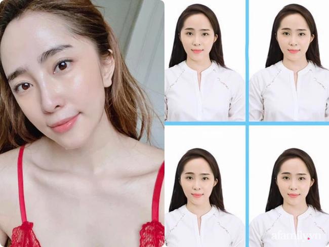 """So sánh mặt mộc với ảnh thẻ mới thấy các sao Việt luôn có chiêu make up """"lách luật"""" để cho ra một bức ảnh thẻ đẹp long lanh - Ảnh 8."""