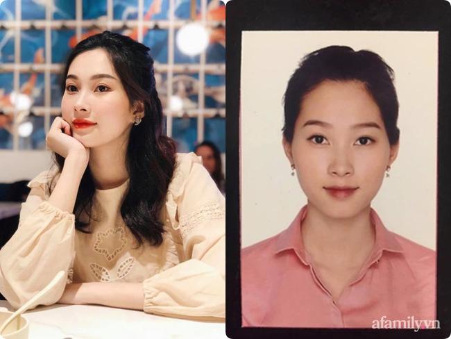"""So sánh mặt mộc với ảnh thẻ mới thấy các sao Việt luôn có chiêu make up """"lách luật"""" để cho ra một bức ảnh thẻ đẹp long lanh - Ảnh 11."""