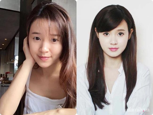 """So sánh mặt mộc với ảnh thẻ mới thấy các sao Việt luôn có chiêu make up """"lách luật"""" để cho ra một bức ảnh thẻ đẹp long lanh - Ảnh 14."""