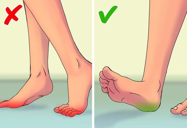 8 sai lầm khi đi bộ khiến sức khỏe bị tổn hại, thậm chí đau nhức toàn thân - Ảnh 6.