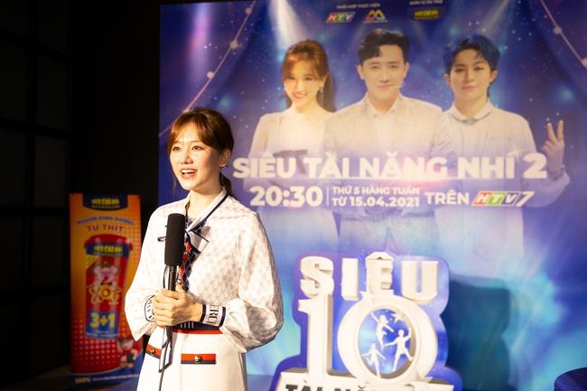 Hari Won muốn sinh con có đầu óc giống Trấn Thành, lập tức nam MC phản bác - Ảnh 2.