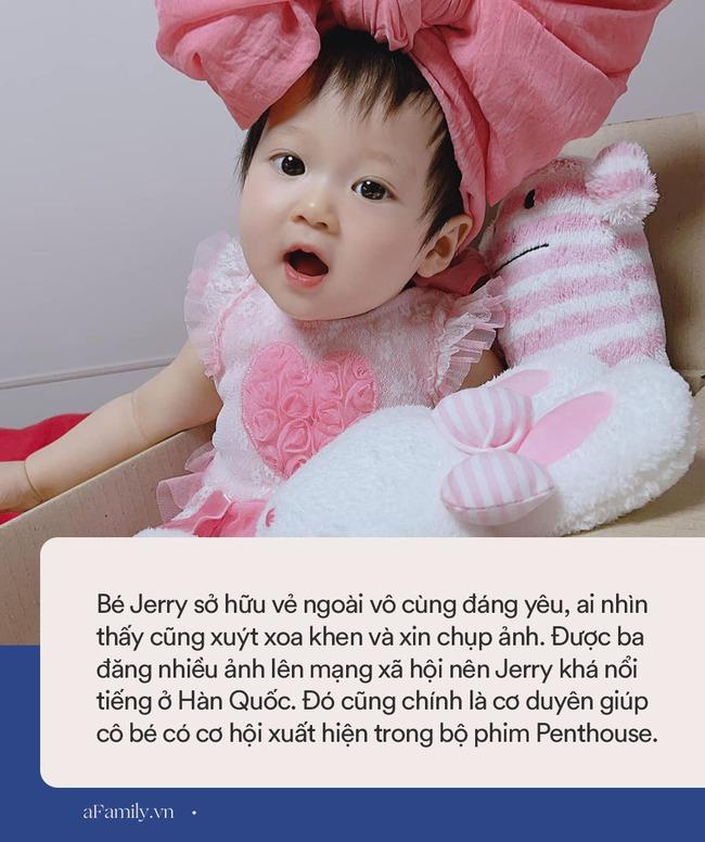 Tiết lộ danh tính bé gái Việt xuất hiện trong bộ phim đình đám Hàn Quốc - Penthouse, ngoài đời gây sốt vì gương mặt xinh như búp bê - Ảnh 7.