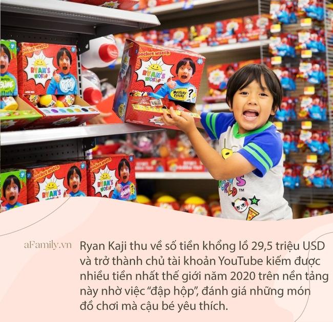 Khi Alpha Kid biến công nghệ thành công cụ kiếm tiền: Cậu bé chuyên review đồ chơi trở thành người kiếm nhiều tiền nhất YouTube - Ảnh 1.