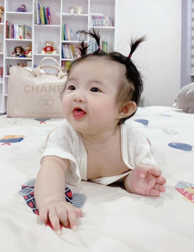 Loạt Alpha Kid mới của showbiz Việt: Bé nào cũng được nuôi dưỡng cẩn thận, tí tuổi đã được ở nhà đẹp, ăn món ngon, xài đồ xịn - Ảnh 6.
