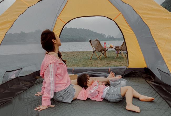 """Ngay gần Hà Nội có một khu cắm trại """"ôm trọn bình yên"""", lọt thỏm giữa thiên nhiên lại có 1001 góc vui chơi, sống ảo đẹp xỉu cho mẹ và bé như thế này! - Ảnh 13."""