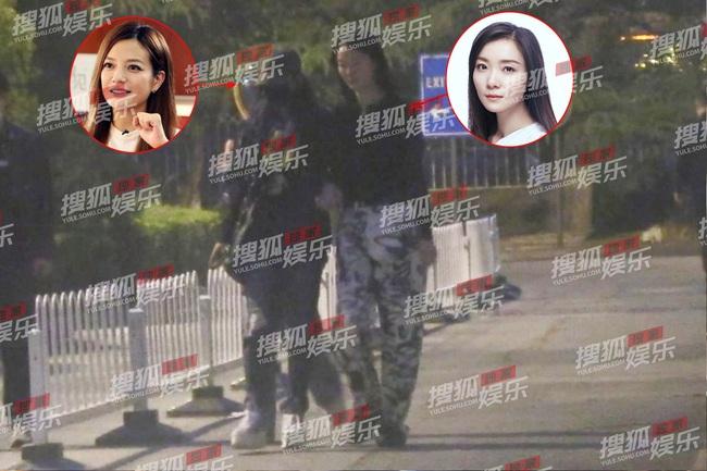 Triệu Vy bị bắt gặp trong tình trạng say rượu, ôm chặt đàn em nữ không rời - Ảnh 3.