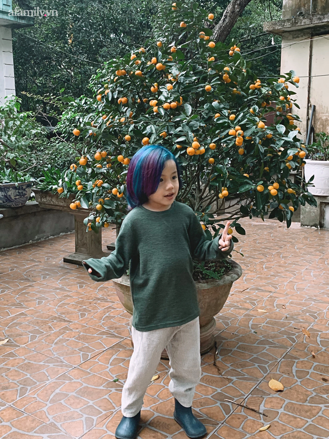 """Nữ CEO 2 thương hiệu thời trang thiết kế: Coi việc thay đổi kiểu tóc là đam mê, từng tự tay """"biến hình thần sầu"""" cho con trai 5 tuổi với tóc nhuộm - Ảnh 11."""