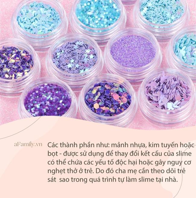 Cách làm slime cho trẻ chơi đơn giản, an toàn, không chứa chất độc hại với 5 nguyên liệu dễ tìm - Ảnh 5.