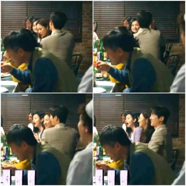 """Song Joong Ki bị chỉ trích đểu cáng vì ga lăng lấy tay che tai cho """"người yêu mới"""" do quá ồn: """"Sao Song Hye Kyo anh không làm vậy?"""" - Ảnh 3."""