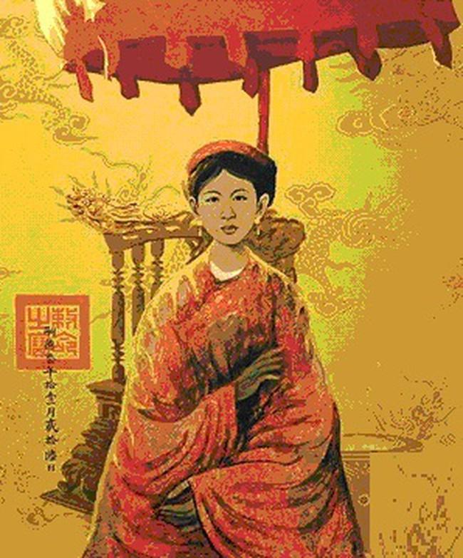 Nữ hoàng đế duy nhất của Việt Nam và chuyện tình bi kịch: Phải nhường ngôi cho chồng khi 7 tuổi, không thể sinh con nên chồng cưới chị dâu đang mang thai làm Hậu! - Ảnh 4.