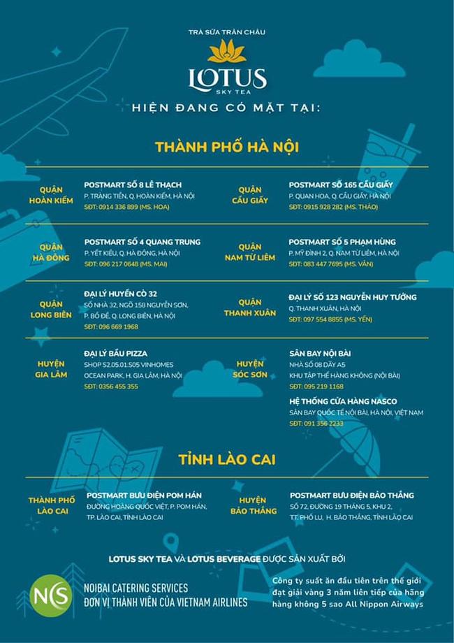 """Bất ngờ xuất hiện trà sữa chân châu với tên gọi """"Lotus Sky team"""" của Vietnam Airlines làm bao người thích thú kéo nhau lên bờ hồ Hoàn Kiếm thưởng thức - Ảnh 3."""
