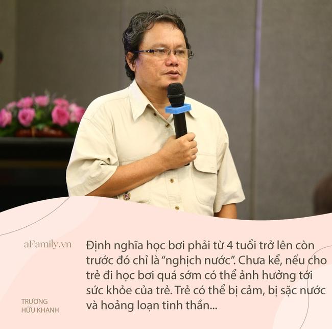 """Từ vụ em bé 1 tháng tuổi ở Hà Nội giật thót mình, gào khóc khi đi học bơi, bác sĩ Nhi lên tiếng: """"Tôi không đồng tình!"""" - Ảnh 2."""