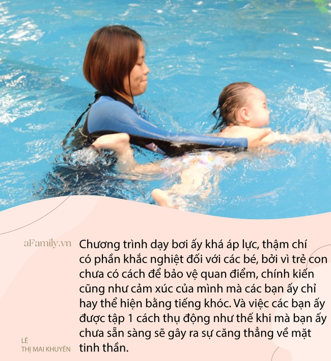 """Từ vụ em bé 1 tháng tuổi ở Hà Nội giật thót mình, gào khóc khi đi học bơi, bác sĩ Nhi lên tiếng: """"Trẻ sơ sinh không cần học bơi!"""" - Ảnh 3."""