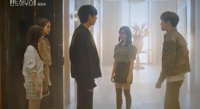 Cuộc chiến thượng lưu tập cuối phần 2: Logan Lee bị cho nổ bom chết ngay trước mặt Su Ryeon, Je Ni bất ngờ trở mặt với Ro Na - Ảnh 9.