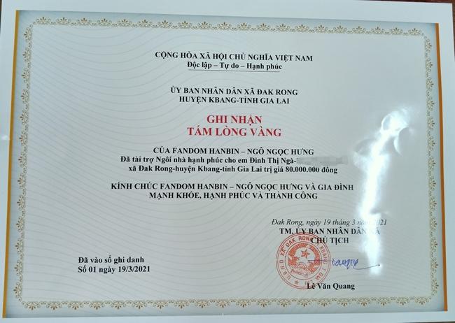 Fan Việt của Hanbin (I-LAND) mạnh tay chi 160 triệu xây nhà tình thương cho học sinh mồ côi, chờ ngày thần tượng debut - Ảnh 6.