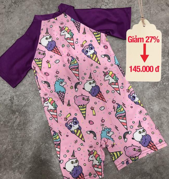 Con nhà Đặng Thu Thảo, Lan Khuê đều mặc đồ bơi kiểu này, giá đang giảm cực tốt các mẹ mua ngay kẻo vào hè không còn giá này - Ảnh 18.