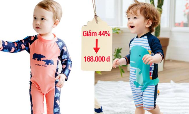 Cả con nhà Đặng Thu Thảo, Lan Khuê đều mặc đồ bơi kiểu này, giá đang giảm cực tốt các mẹ mua ngay kẻo vào hè không còn giá này - Ảnh 4.