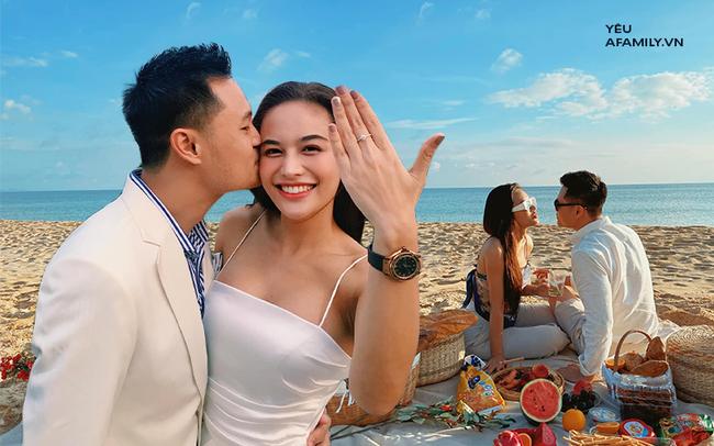 Chàng CEO từng bị hiểu nhầm là Gay hẹn hò 4 tháng đã cầu hôn, tặng vợ váy cưới xa xỉ limited, tổ chức ở cùng nơi với cầu thủ Công Phượng - Ảnh 1.