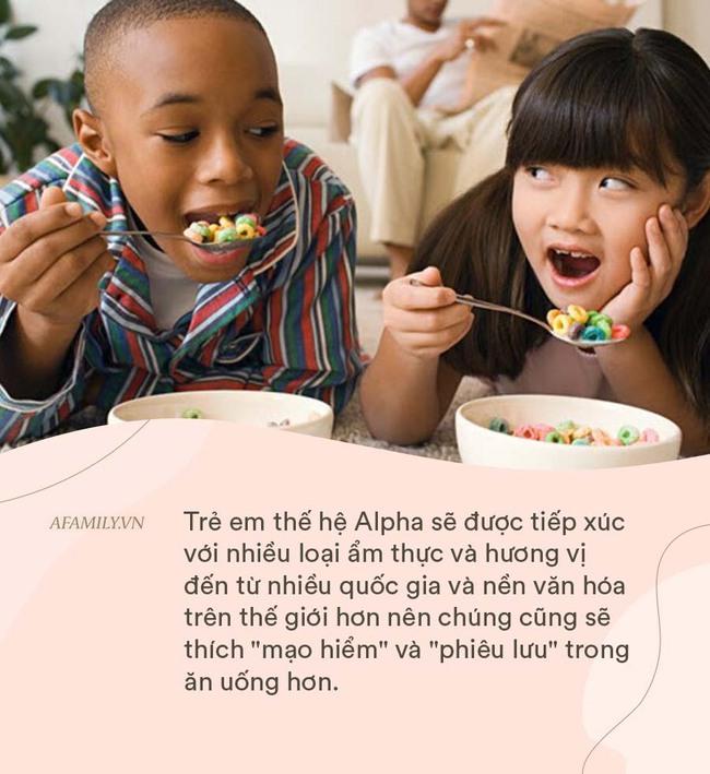 Đón đầu nắm bắt những xu hướng và sở thích chủ đạo trong ăn uống của thế hệ Alpha để chăm con tốt hơn - Ảnh 1.