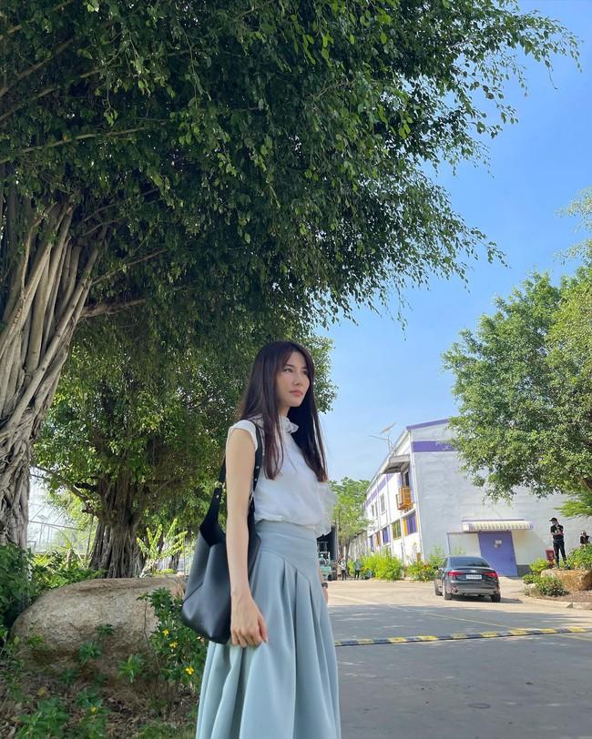 Hết Minh Hằng rồi đến Diễm My 9x khoe style công sở chuẩn sành điệu và thanh lịch trong phim mới - Ảnh 4.