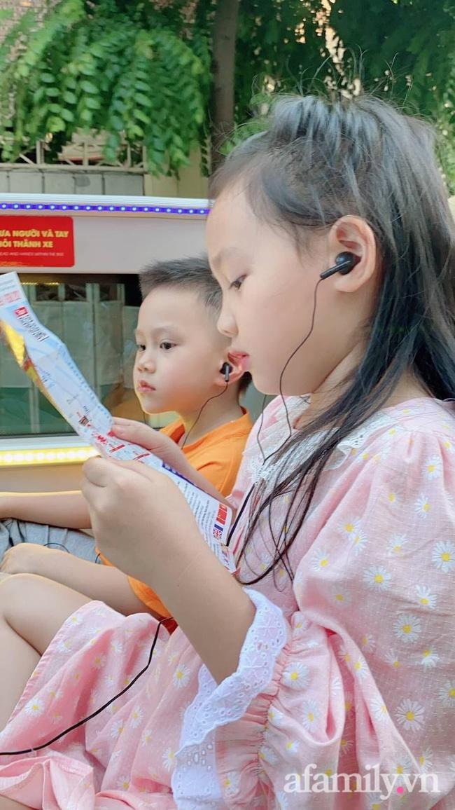 """Mẹ trẻ Hà Nội chia sẻ hành trình đưa con đi trải nghiệm xe buýt 2 tầng: Quá lung linh, diệu kỳ, con liên tục reo lên: """"Ôi mẹ ơi mẹ đẹp chưa kìa"""" - Ảnh 12."""