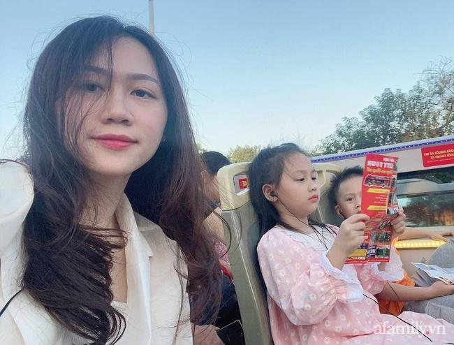 """Mẹ trẻ Hà Nội chia sẻ hành trình đưa con đi trải nghiệm xe buýt 2 tầng: Quá lung linh, diệu kỳ, con liên tục reo lên: """"Ôi mẹ ơi mẹ đẹp chưa kìa"""" - Ảnh 4."""