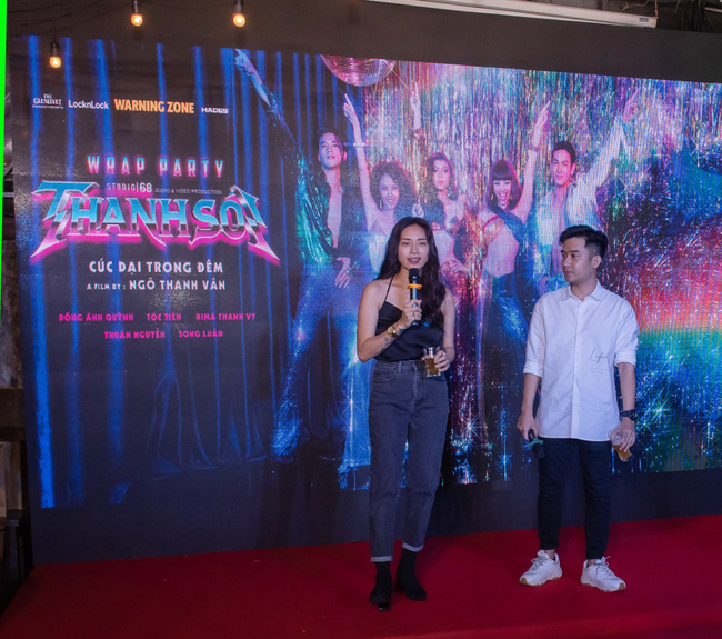 """Ngô Thanh Vân mở tiệc mừng đóng máy """"Thanh Sói"""" sau hành trình quay kỷ lục - Ảnh 2."""