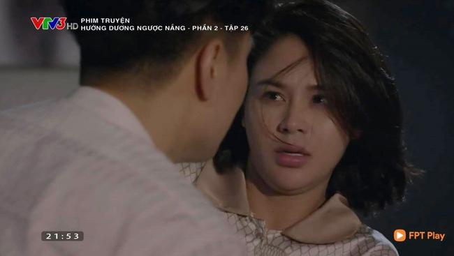 """Hướng dương ngược nắng: Minh đáp lại nụ hôn của Hoàng, biểu cảm tố cáo đã yêu """"trăm phần trăm"""" - Ảnh 5."""