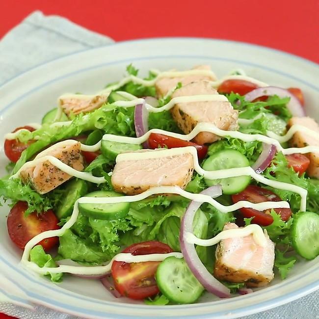 Bữa tối mùa hè mà ăn món salad này, chị em vừa no mà chẳng sợ tăng cân! - Ảnh 12.