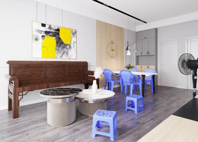 """Tranh cãi thiết kế nội thất theo phong cách """"tân cổ giao duyên"""": Người cho rằng là nét giao thoa văn hóa, kẻ lại nói giống như mớ bòng bong - Ảnh 2."""