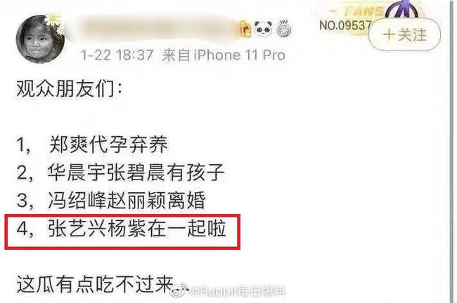 Dương Tử và Trương Nghệ Hưng bất ngờ bị khui lại chuyện vướng tin đồn hẹn hò - Ảnh 1.