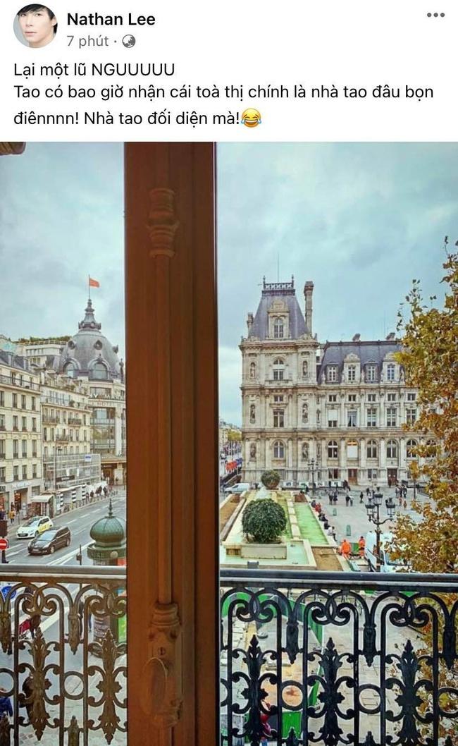 """Drama cực căng: Cao Thái Sơn tố Nathan Lee đi thuê nhà, """"sống ảo"""" nhận vơ có khách sạn nghìn tỷ ở Paris nhưng Nathan Lee cũng không vừa tung hẳn bằng chứng đáp trả - Ảnh 3."""