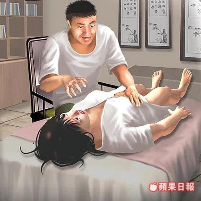 Đi massage bấm huyệt, người phụ nữ bỗng nhận được yêu cầu kỳ quái của nhân viên để rồi thất kinh khi phát hiện hành động gớm ghiếc của hắn ta - Ảnh 2.