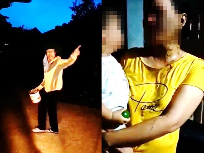 """Vụ bé trai 2 tuổi và mẹ bị đổ phân lên người: Chủ nợ đe dọa """"thằng nhỏ đi nhà trẻ... cô kêu giang hồ bắt"""" - Ảnh 4."""