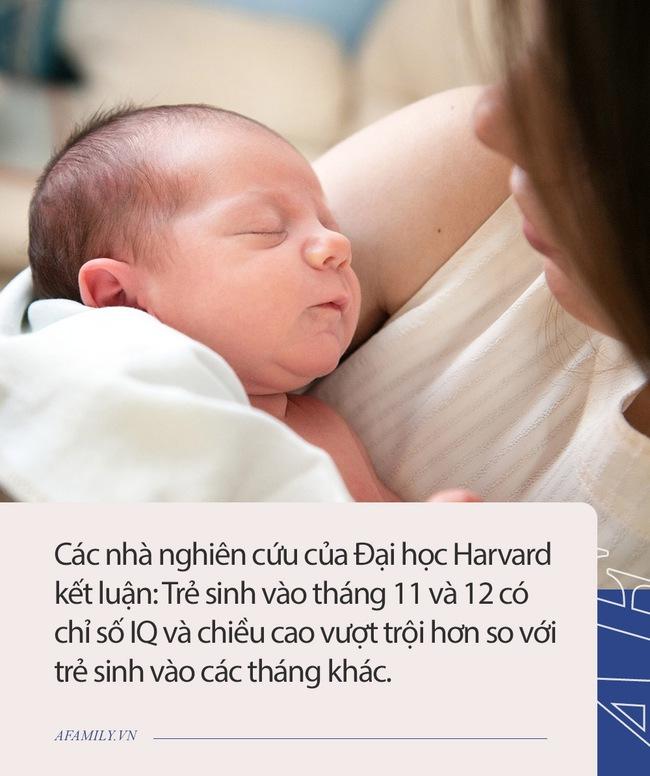 Nghiên cứu của ĐH Harvard: Những đứa trẻ sinh vào 2 tháng này thường thông minh hơn, con bạn sinh vào tháng mấy? - Ảnh 1.