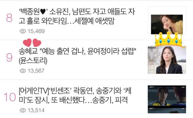 """Song Hye Kyo chứng tỏ độ hot khủng khiếp: Xuất hiện cùng 7 diễn viên trên truyền hình nhưng chỉ 1 mình """"gây bão"""" - Ảnh 5."""