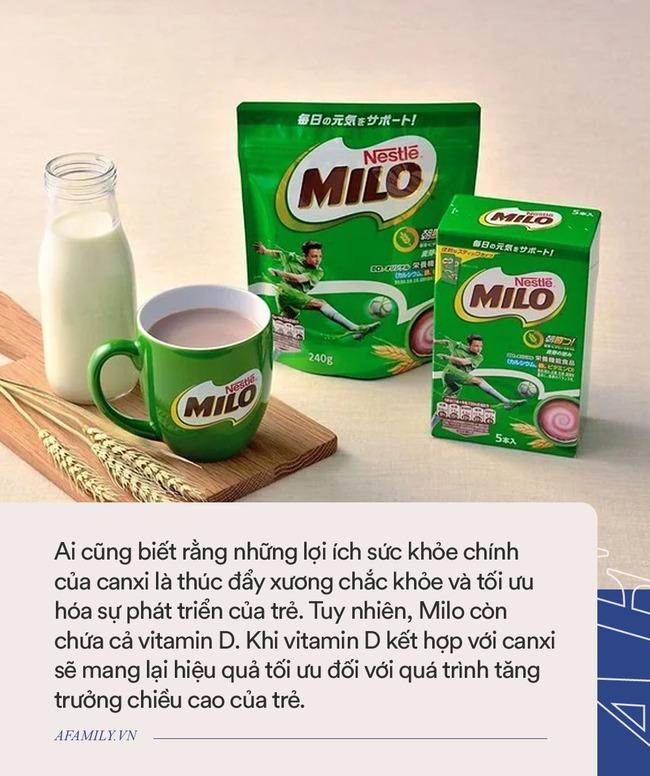 Milo gây bất ngờ bởi hàm lượng dinh dưỡng khủng đến người Nhật cũng phát cuồng, nhưng mẹ cho con uống nên nhớ kĩ 1 điều - Ảnh 3.
