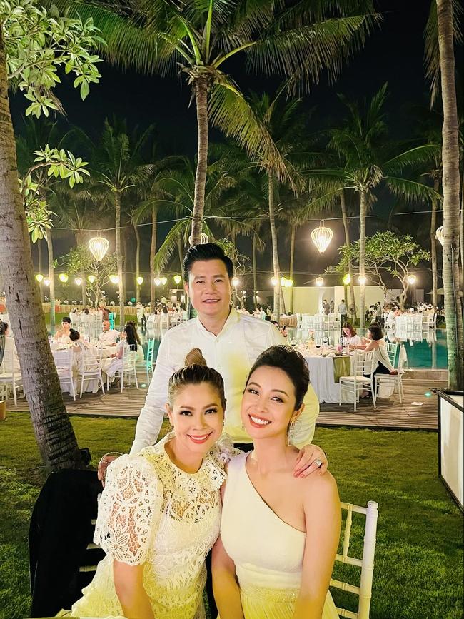 """Sau câu nói """"gây bão"""", Quang Dũng tiếp tục thân thiết bên vợ cũ Jennifer Phạm và người yêu cũ Thanh Thảo trong buổi tiệc - Ảnh 2."""