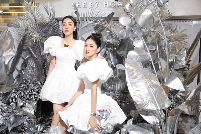 Quỳnh Nga, Huyền Lizzie diện trang sức cả trăm triệu, đọ sắc cùng dàn Bông hậu Vbiz tại sự kiện thời trang - Ảnh 3.