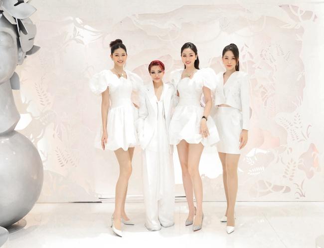 Quỳnh Nga, Huyền Lizzie diện trang sức cả trăm triệu, đọ sắc cùng dàn Bông hậu Vbiz tại sự kiện thời trang - Ảnh 4.