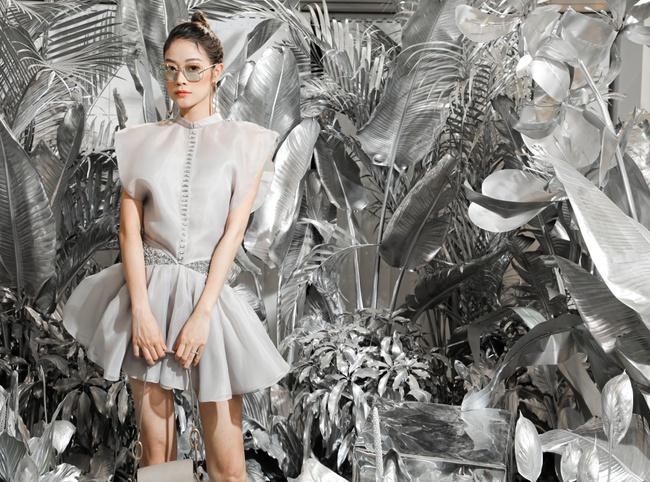 Quỳnh Nga, Huyền Lizzie diện trang sức cả trăm triệu, đọ sắc cùng dàn Bông hậu Vbiz tại sự kiện thời trang - Ảnh 5.