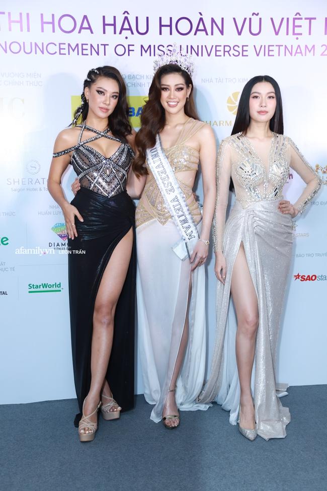 Dàn mỹ nhân Việt đọ nhan sắc tại họp báo Hoa hậu Hoàn Vũ Việt Nam - Ảnh 2.