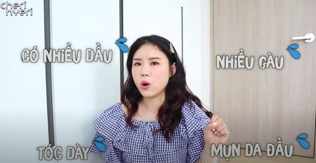 Cô nàng blogger người Hàn bật mí chiêu gội đầu dành cho nàng tóc dầu nhanh bết dính - Ảnh 1.