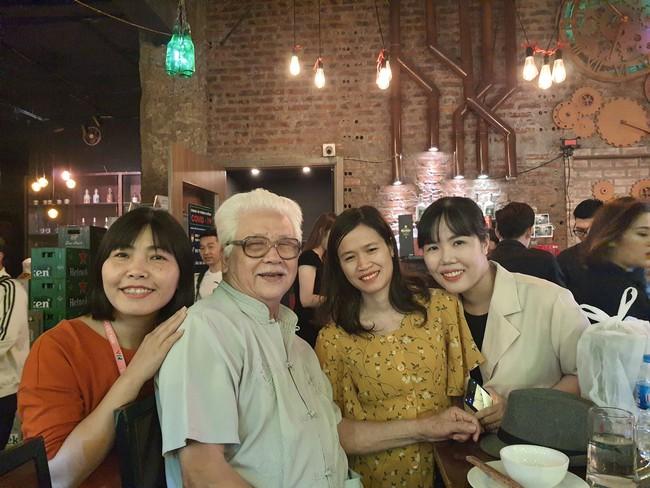 Tiệc off đoàn Hướng dương ngược nắng: Ngỡ ngàng nhan sắc thật không hề qua app của NSND Thu Hà, nổi bật hơn cả Hồng Diễm, Lương Thu Trang - Ảnh 5.
