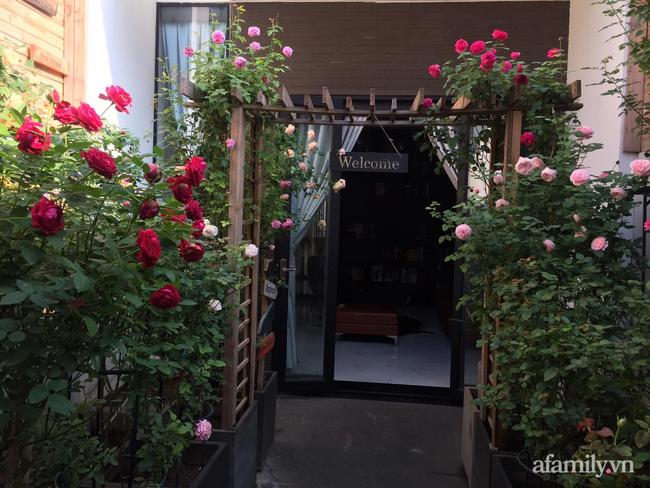 Vườn hồng rực rỡ tỏa sắc hương trước sân nhà đón hè sang của cặp vợ chồng trẻ Sải Gòn - Ảnh 4.