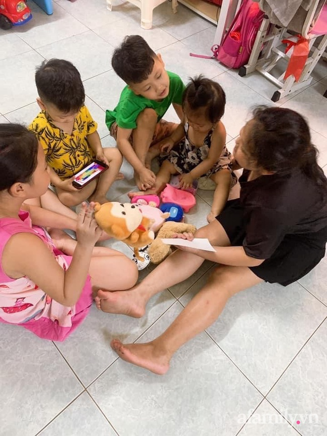 Mẹ trẻ 27 tuổi đẻ 5 con san sát: Áp lực đủ đường, đau bụng mà không dám đi đẻ vì còn sốt ruột con ốm ở nhà - Ảnh 4.