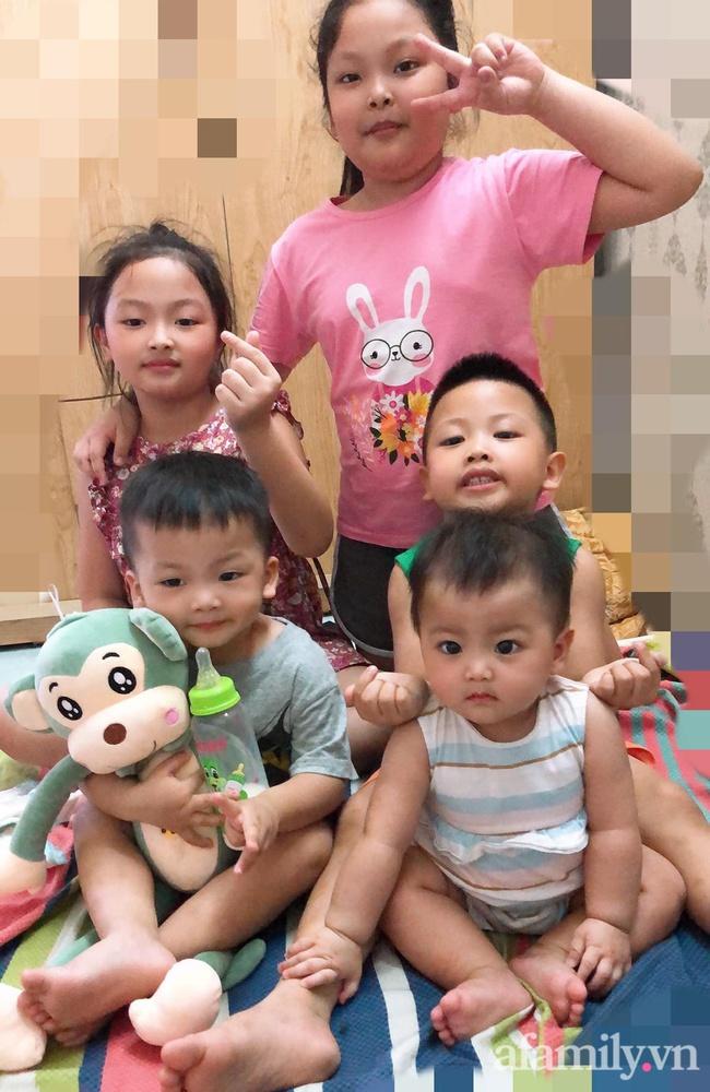 Mẹ trẻ 27 tuổi đẻ 5 con san sát: Áp lực đủ đường, đau bụng mà không dám đi đẻ vì còn sốt ruột con ốm ở nhà - Ảnh 5.