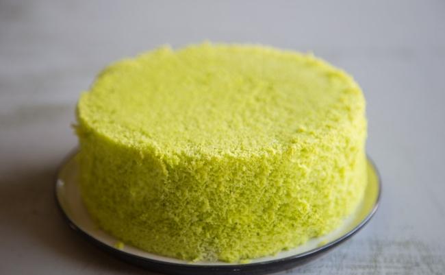 Không cần lò nướng với 4 nguyên liệu bạn có thể làm bánh bông lan lá dứa bất bại - Ảnh 10.