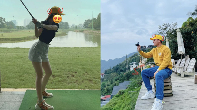 """Dân mạng bất ngờ tìm ra """"manh mối"""" về tình mới của Quang Hải, là một cô gái trẻ thích chơi Golf, ngoại hình quyến rũ - Ảnh 2."""